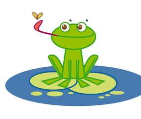 Apprendre à dessiner: une grenouille