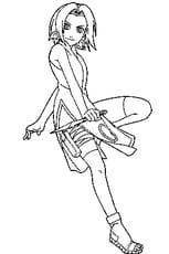 Coloriage Kakashi.Coloriage Naruto Uzumaki En Ligne Gratuit A Imprimer
