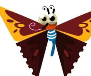 Dessiner un papillon