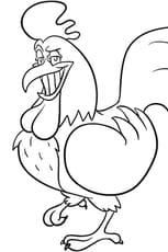 Le fier coq