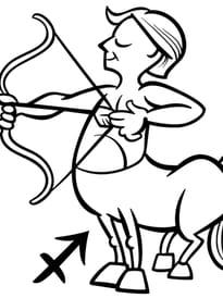 Signe du Zodiaque le Sagittaire