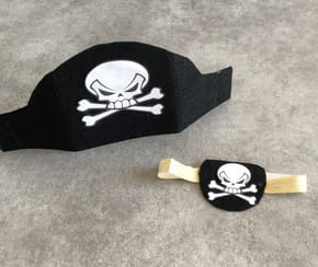 Chapeau de pirate pour Halloween [VIDEO]