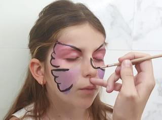 Étape 5:  dessiner le corps du papillon