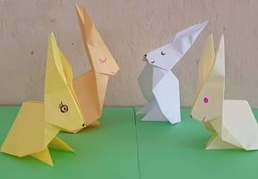 Origami lapin: comment faire un lapin en papier?