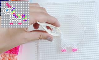 Étape 2: Commencer le modèle en perles de la licorne