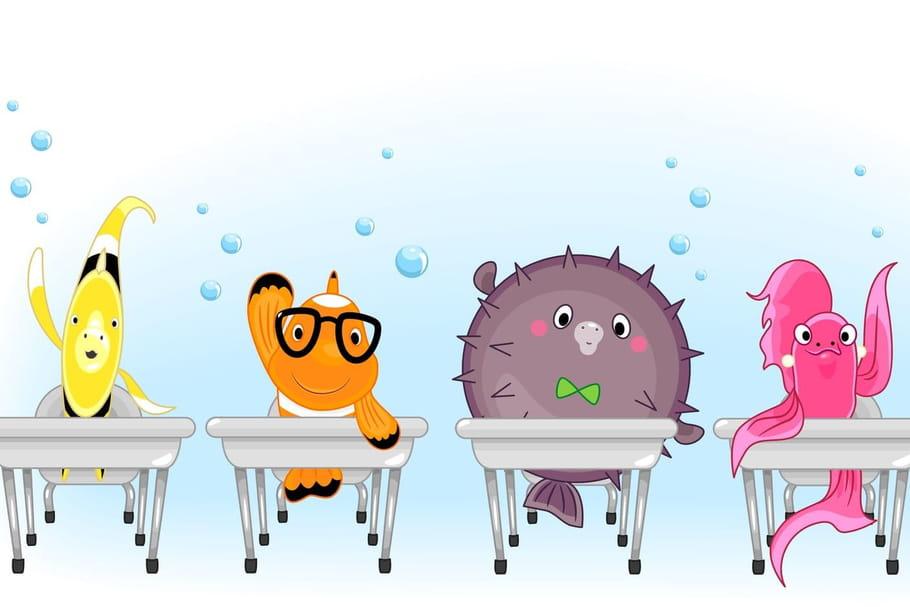 Comptine L'école des poissons