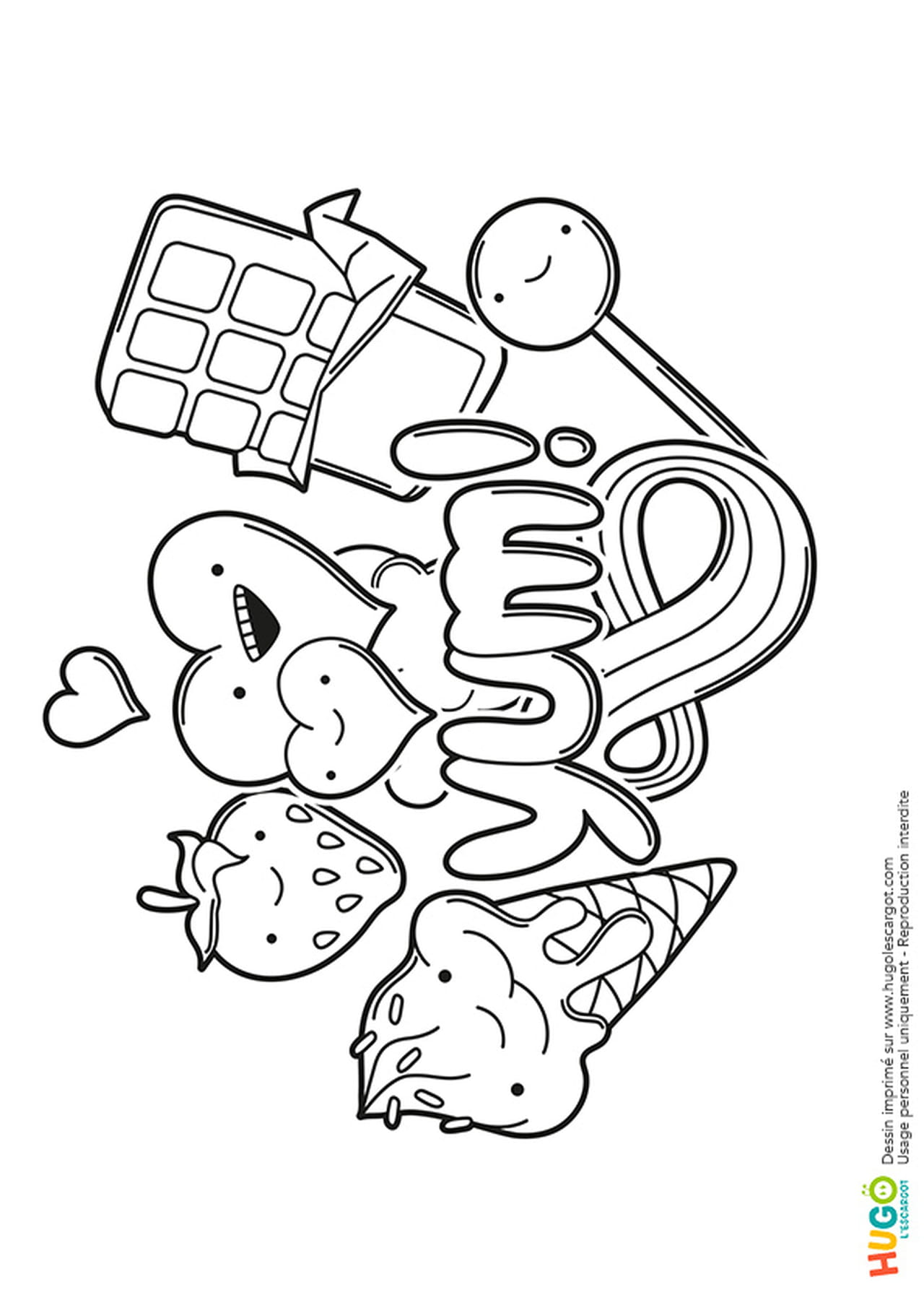 Site De Coloriage Kawaii