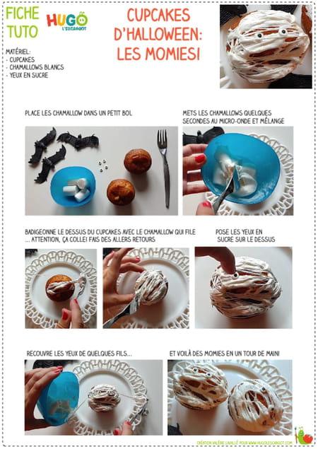 recette-pour-fabriquer-des-cupcakes-momies-pour-halloween