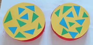 Étape 4: décorez les ronds découpés précédemment