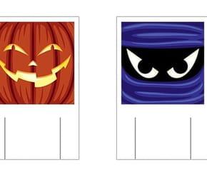 Des marque-verres pour Halloween