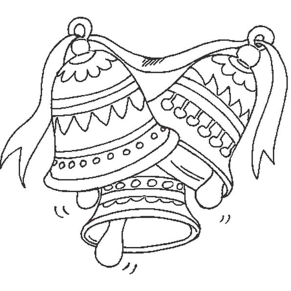 Coloriage cloches en ligne gratuit imprimer - Dessin de paques a imprimer gratuit ...