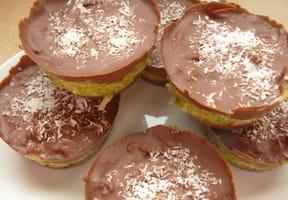 Muffins de l'espace type Bounty