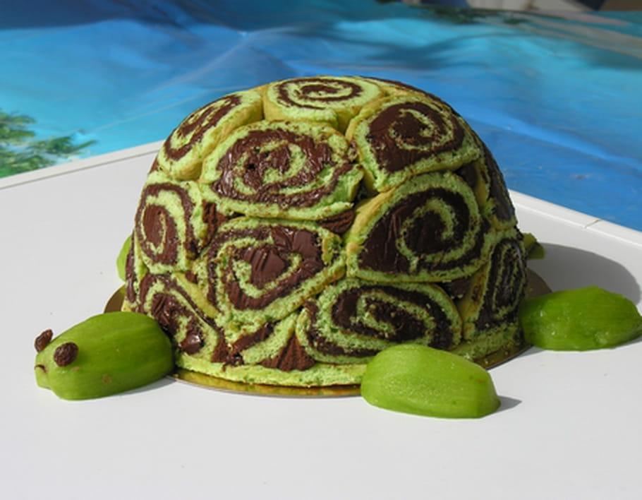 Gâteau d'anniversaire Tortue