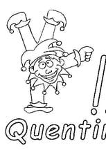 Coloriage Quentin en Ligne Gratuit à imprimer
