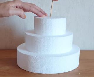 Étape 1: monter la structure en polystyrène