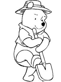 Coloriage Winnie L Ourson Sur Hugolescargot Com