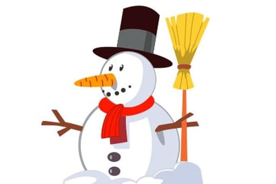 Bonhomme de neige coloriage - Bonhomme de neige polystyrene ...