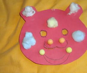 Un masque d'ours