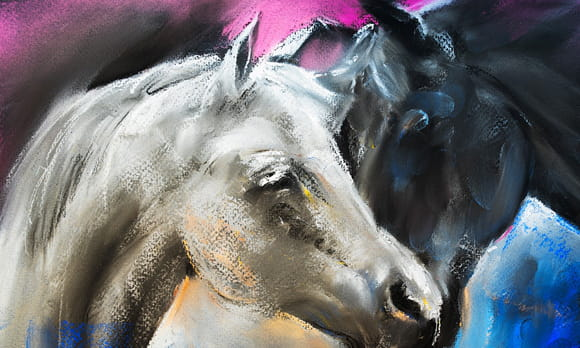 Coloriage cheval imprimer sur - Lulu l escargot coloriage ...
