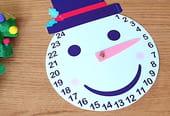 Calendrier de l'avent Bonhomme de neige [VIDEO]