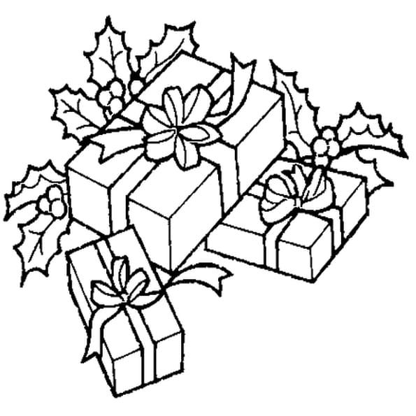 Coloriage cadeau no l en ligne gratuit imprimer - Cadeau de noel gratuit ...