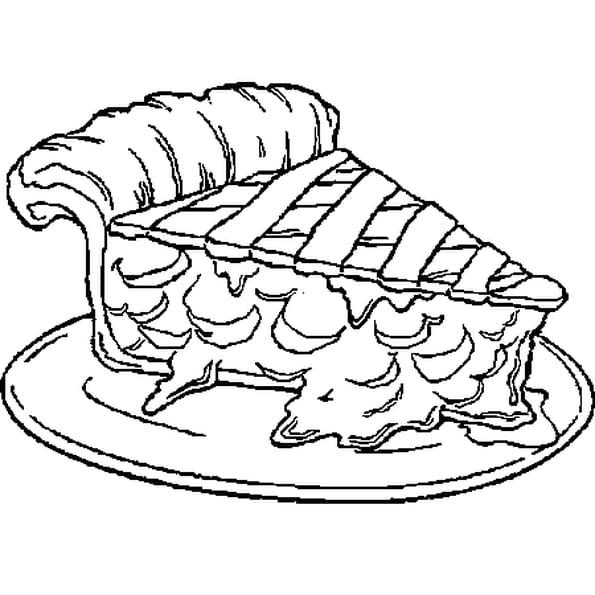 Tarte dessin - Dessin tarte aux pommes ...