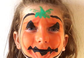 Maquillage citrouille pour Halloween [VIDEO]