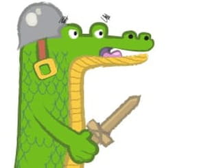 Dessiner un crocodile