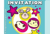 Carte invitation anniversaire petits animaux rigolos