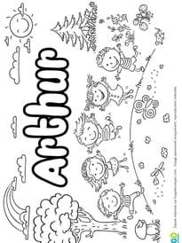 Arthur prénom de garçon version4