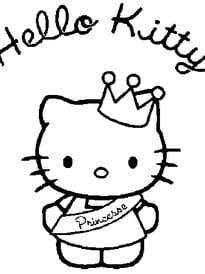hello kitty princesse