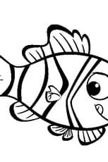 Coloriage poisson d'avril 4