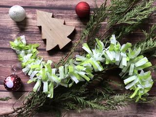 Guirlande de Noël en papier - Étape 8