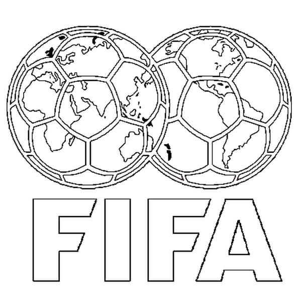 Dessin FIFA a colorier