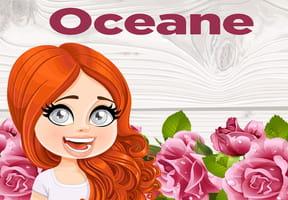 Oceane : prénom de fille lettre O