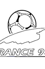 Coloriage Coupe du Monde 98