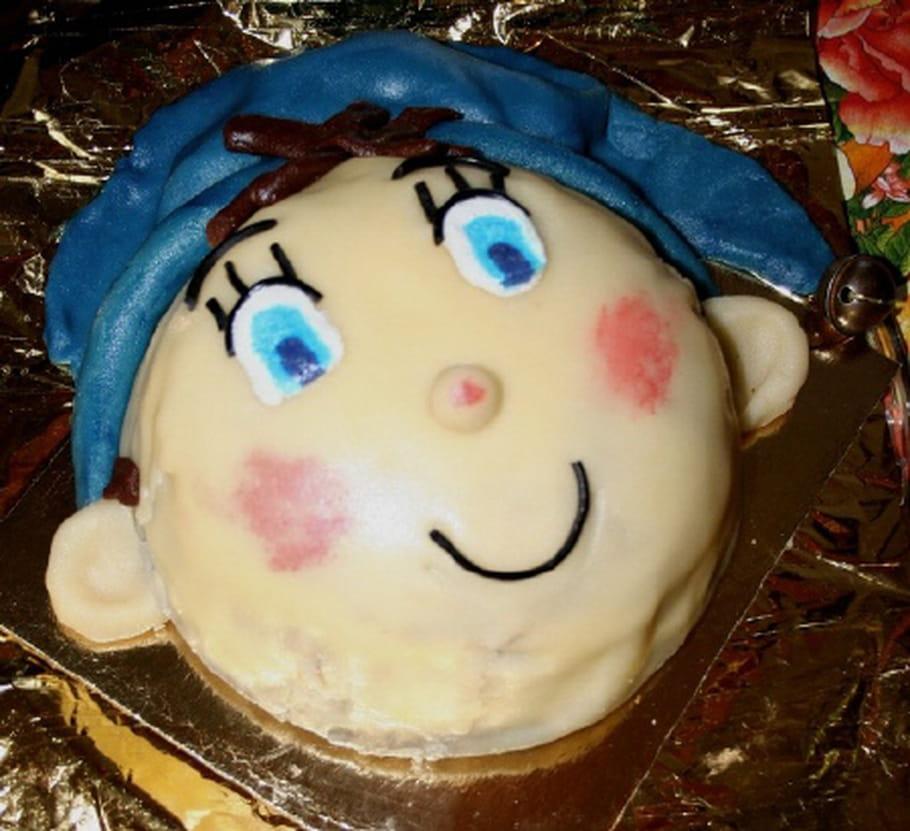 Gâteau d'anniversaire Oui-Oui
