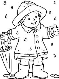 Coloriage magique enfant