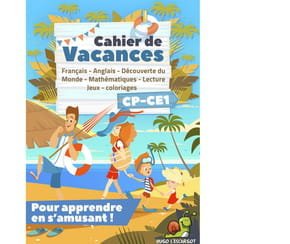 Cahier de vacances CP-CE1