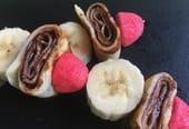 Brochettes de crêpes pour la Chandeleur