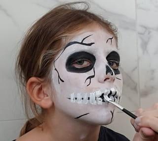 Créez les dents du squelette