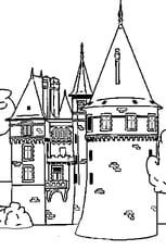 Coloriage En Ligne Gratuit Chateau.Coloriage Chateau En Ligne Gratuit A Imprimer