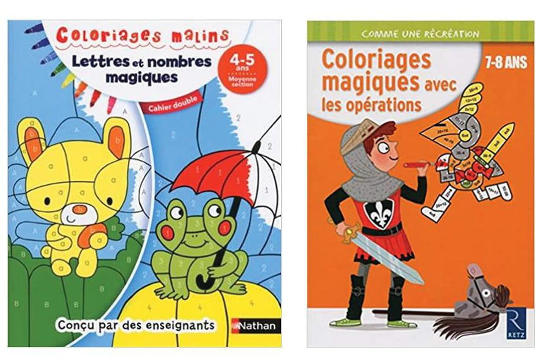 Cahier De Coloriages Magiques Une Activite Ludo Educative