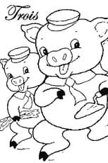 Coloriage les 3petits cochons
