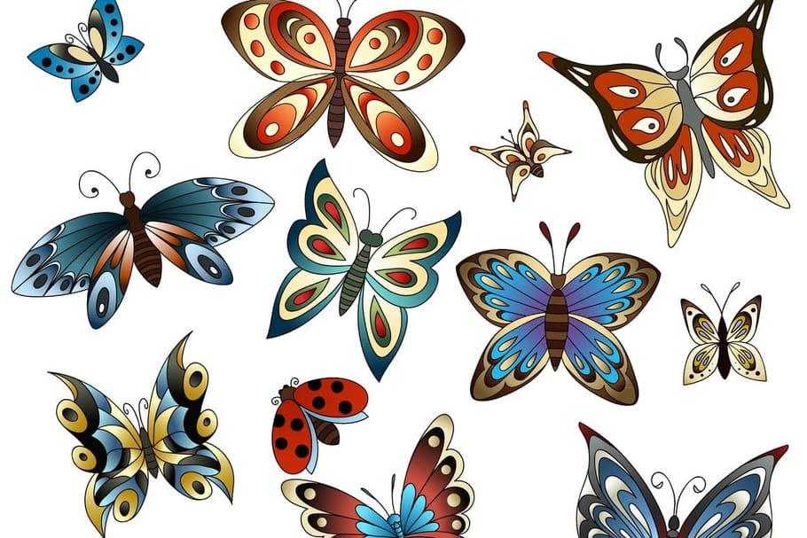Comptine Les papillons