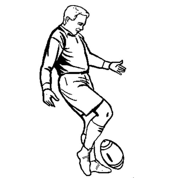 Coloriage Rugby en Ligne Gratuit à imprimer