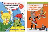Cahier de coloriages magiques: une activité ludo-éducative