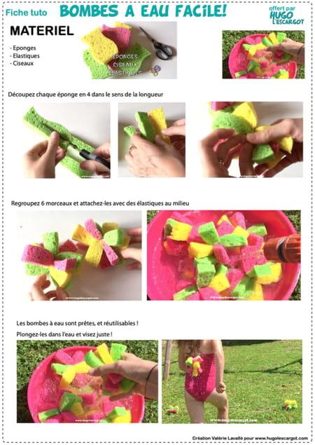 fabriquer-des-bombes-a-eau-avec-des-eponges