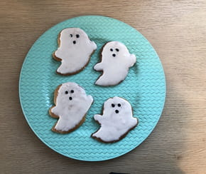 Recette sablé fantôme pour Halloween [VIDEO]