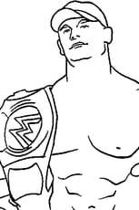 Coloriage Cena en Ligne Gratuit à imprimer